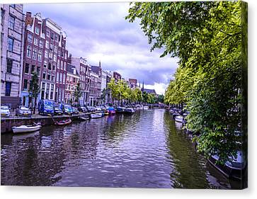 Redlight Canvas Print - Amsterdam Is Beautiful by Xe Ale