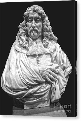 Amsterdam Rijksmuseum Classic Bust - 09 Canvas Print by Gregory Dyer