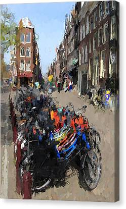 Amsterdam Canvas Print by Steve K