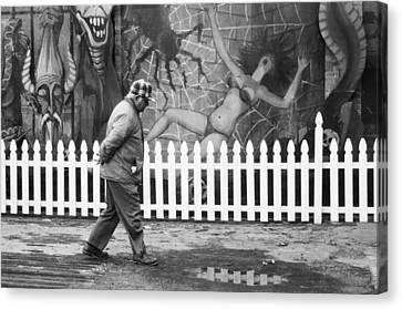 Amusement Park Asbury Nj Canvas Print
