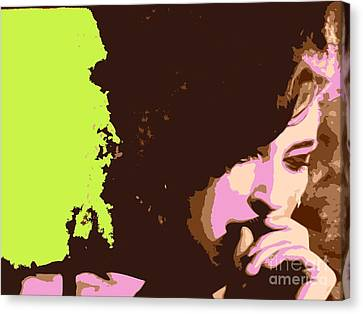 Amy Canvas Print by Everette McMahan jr