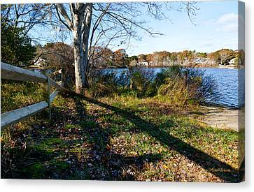 Michelle Canvas Print - An Afternoon At Long Pond by Michelle Wiarda-Constantine