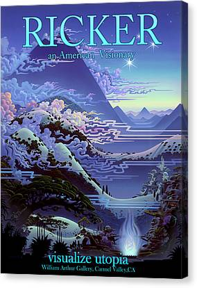 an Algadorian Garden FFi Canvas Print