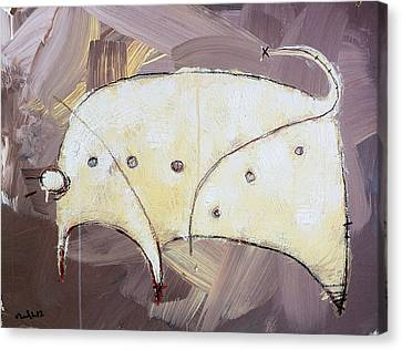An Allegory Of Things Unknown  11 Canvas Print by Mark M  Mellon