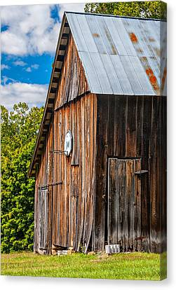 An American Barn Canvas Print by Steve Harrington