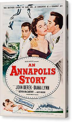 An Annapolis Story, Us Poster, Top Canvas Print