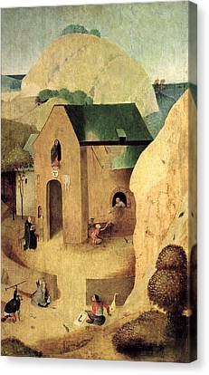 An Antonian Priory Oil On Panel Reverse Of 28165 Canvas Print
