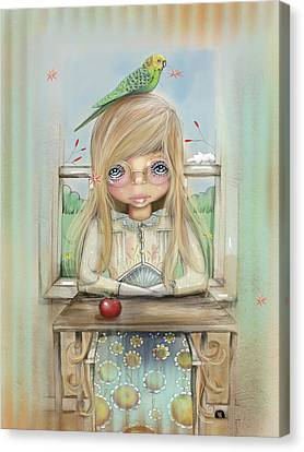 An Apple A Day Canvas Print by Karin Taylor