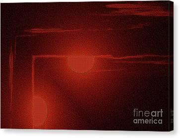 An Arrow From The Sun Canvas Print by Jeff Swan