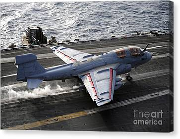 An Ea-6b Prowler Takes Canvas Print by Stocktrek Images