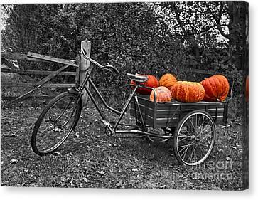 An English Halloween Canvas Print by Nick Wardekker