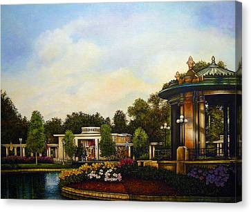 An Evening At The Muny Canvas Print