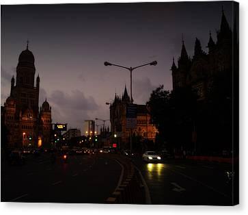 Mumbai Canvas Print by Salman Ravish