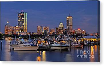 Charles River Canvas Print - An Evening On The Charles by Joann Vitali