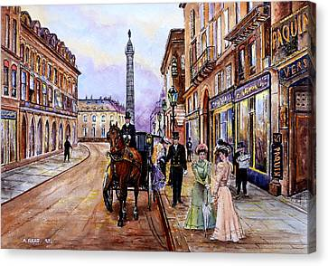 An Evening Out Canvas Print by Andrew Read