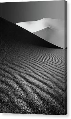 An Ice Hill In Desert ! Canvas Print