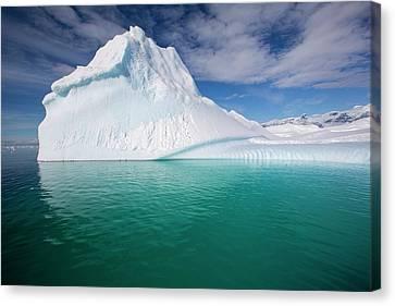 An Iceberg In The Gerlache Strait Canvas Print