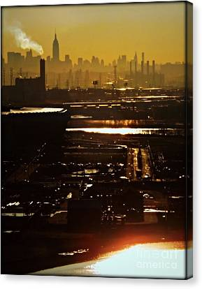 An Imposing Skyline Canvas Print by James Aiken