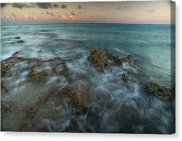 Clouds Over Sea Canvas Print - An Ocean View Off The Coast Of Cat by Andy Mann