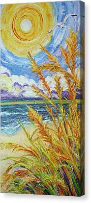 An Ocean View Canvas Print
