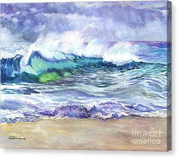 An Ode To The Sea Canvas Print