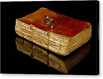 An Old Bible Canvas Print by Tommytechno Sweden