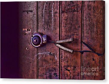 An Old Doorbell Canvas Print by Paul Ward