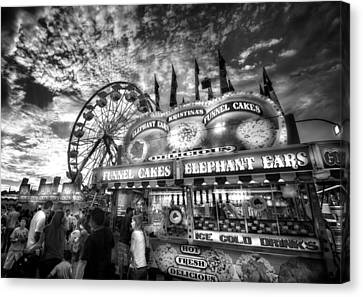 An Old Fashioned Carnival Canvas Print by Mark Andrew Thomas