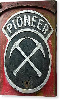 Pioneer Museum Canvas Print - An Old Pioneer Plant by Ashley Cooper