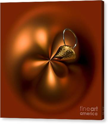 An Orb Of Orange Canvas Print