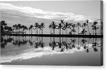 Canvas Print featuring the photograph Anaehoomalu Bay by Scott Rackers