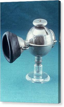 Reliefs Canvas Print - Anaesthetic Ether Inhaler by Science Photo Library