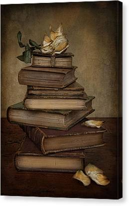 Analects Of Wisdom Canvas Print by Robin-Lee Vieira