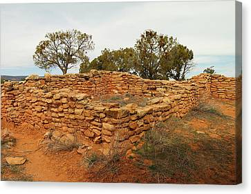 Anasazi Ruins Southern Utah Canvas Print by Jeff Swan