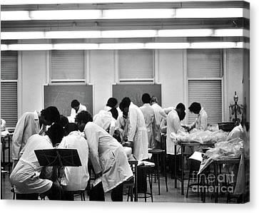 Anatomy Class V2 1976 University Of Chicago  Canvas Print