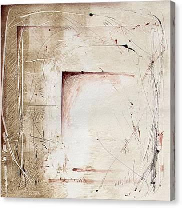 Ancestral Vision 1 Canvas Print by Jeannette Debonne