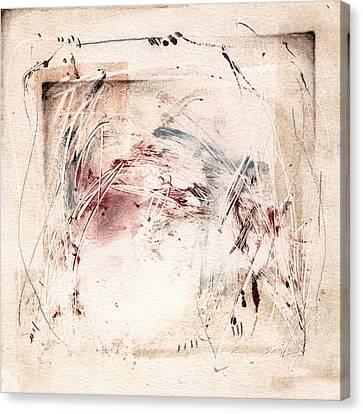 Ancestral Vision 2 Canvas Print by Jeannette Debonne