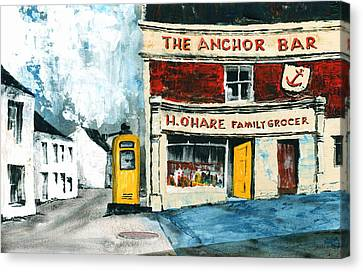 Anchor Bar  Carlingford  Louth Canvas Print