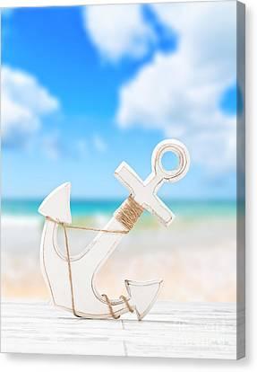 Anchor Canvas Print by Amanda Elwell