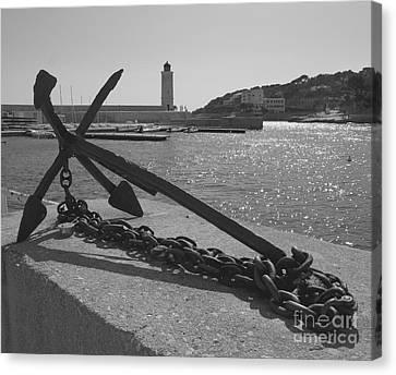 Anchor Canvas Print by Louise Fahy