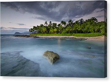 Anchor Of The Sea At Koolina Canvas Print