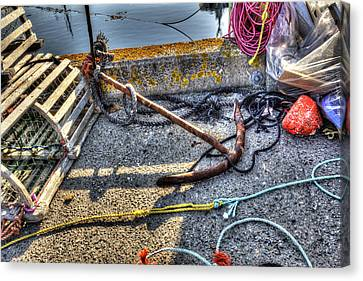Canvas Print featuring the photograph Anchor by Shawn Everhart