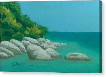 Anchorage 2 Canvas Print by Diane Cutter
