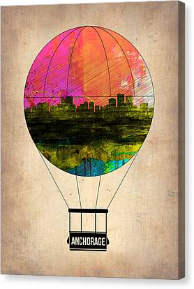 Anchorage Air Balloon  Canvas Print