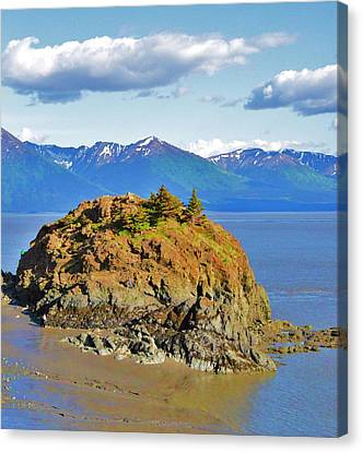 Anchorage Alaska Canvas Print by Dacia Doroff