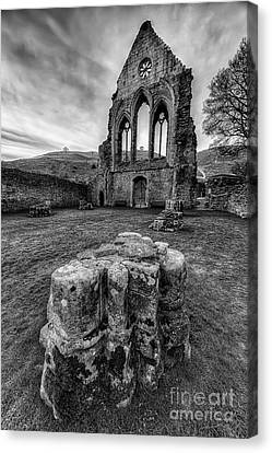 Ancient Abbey Canvas Print by Adrian Evans