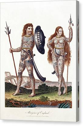 Ancient Britons Canvas Print by Paul D Stewart