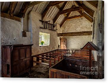 Ancient Chapel Canvas Print by Adrian Evans