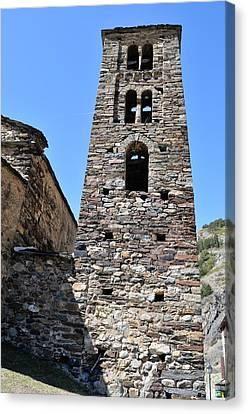 Ancient Church Canvas Print by Arnau Ramos Oviedo
