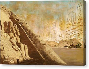 Ancient Egypt Civilization 05 Canvas Print by Catf